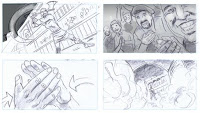doctor who the magician's apprentice storyboard