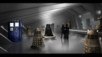 Doctor Who The Witch's Familiar Production Artwork Daleks