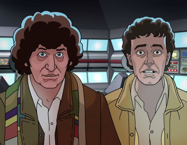 Doctor Who Shada Fourth Doctor Romana Tom Baker Douglas Adams