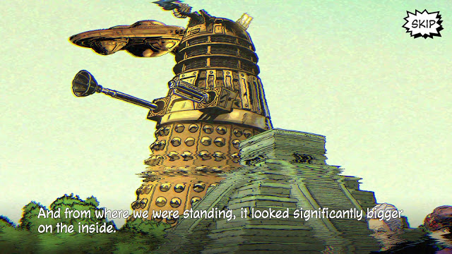 doctor who infinity The Dalek Invasion of Time