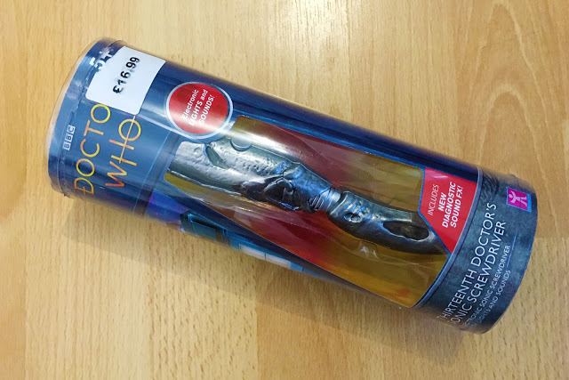 Thirteenth Doctor sonic screwdriver toy