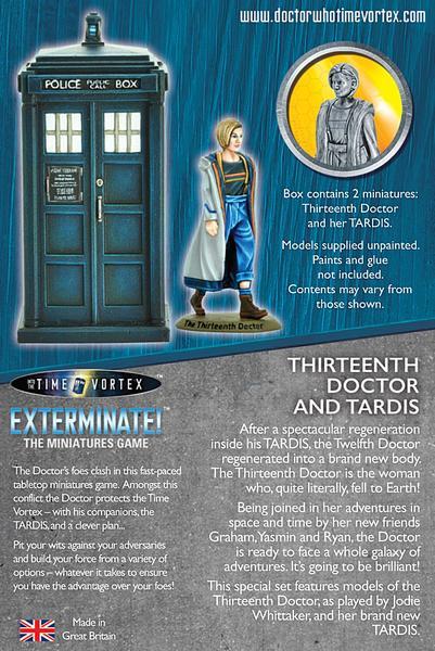 warlord games thirteenth doctor boc back