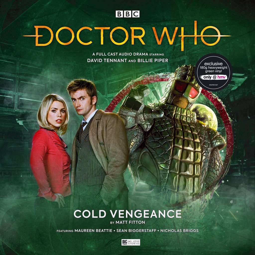 Big Finish Doctor Who vinyl Cold Vengeance