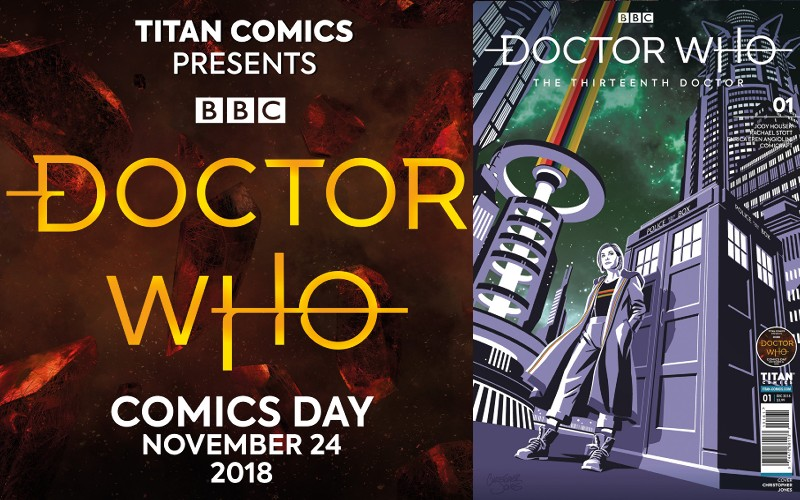 doctor who comic book day cove