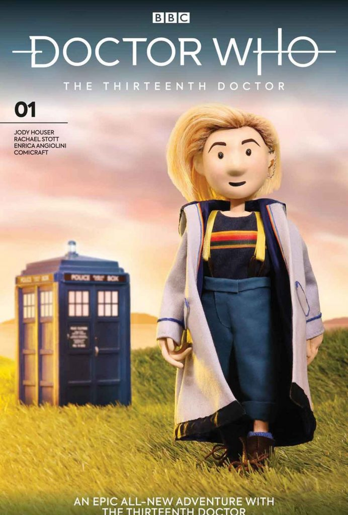 Titan comics doctor puppet cover