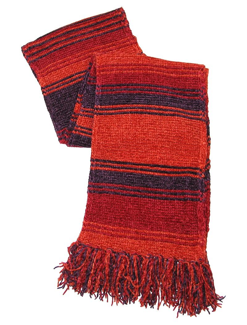 Fourth Doctor Season 18 burgundy scarf
