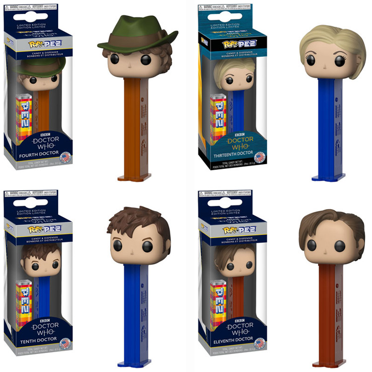 doctor who pez dispensers