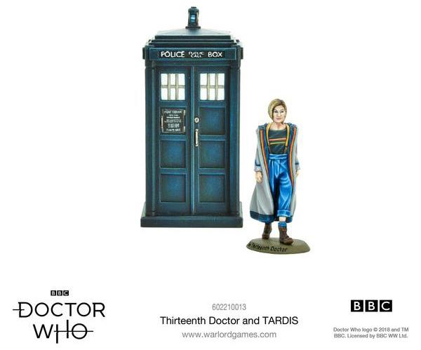 warlord games thirteenth doctor