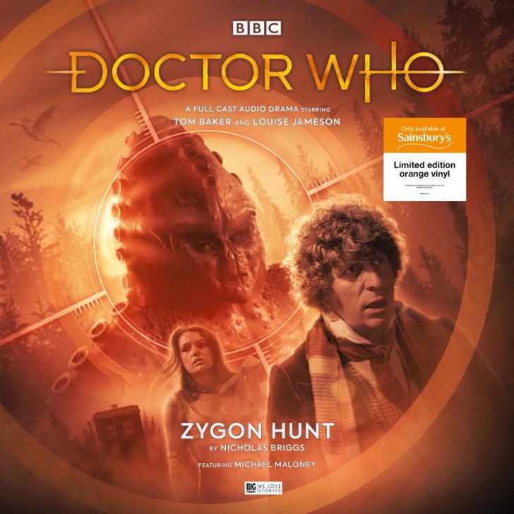 Big Finish Doctor Who vinyl Zygon Hunt