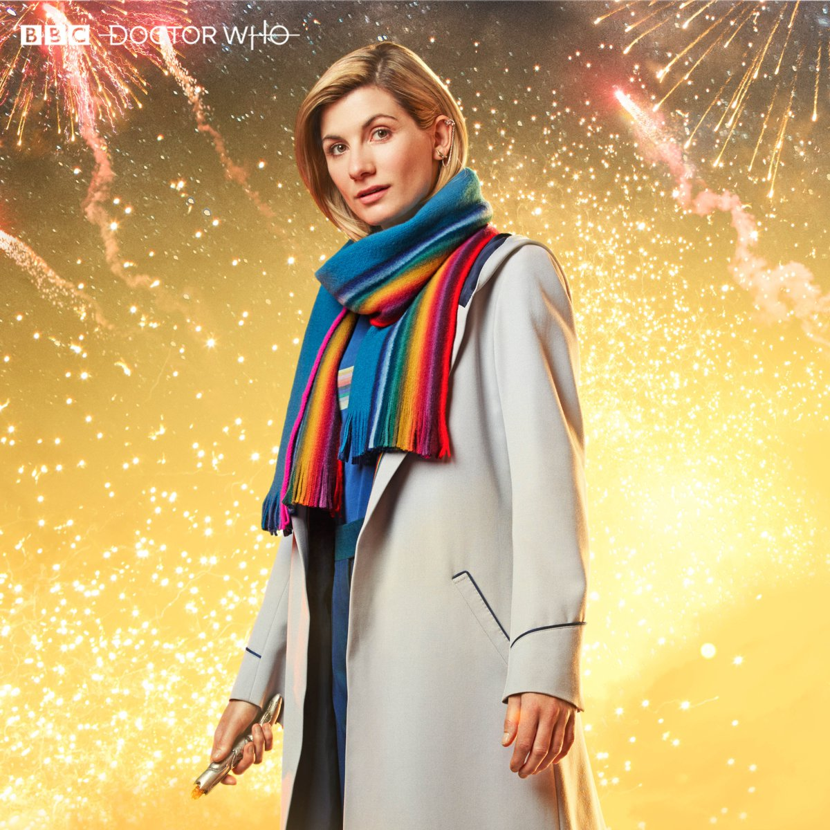 doctor who new year's special thirteenth doctor scarf