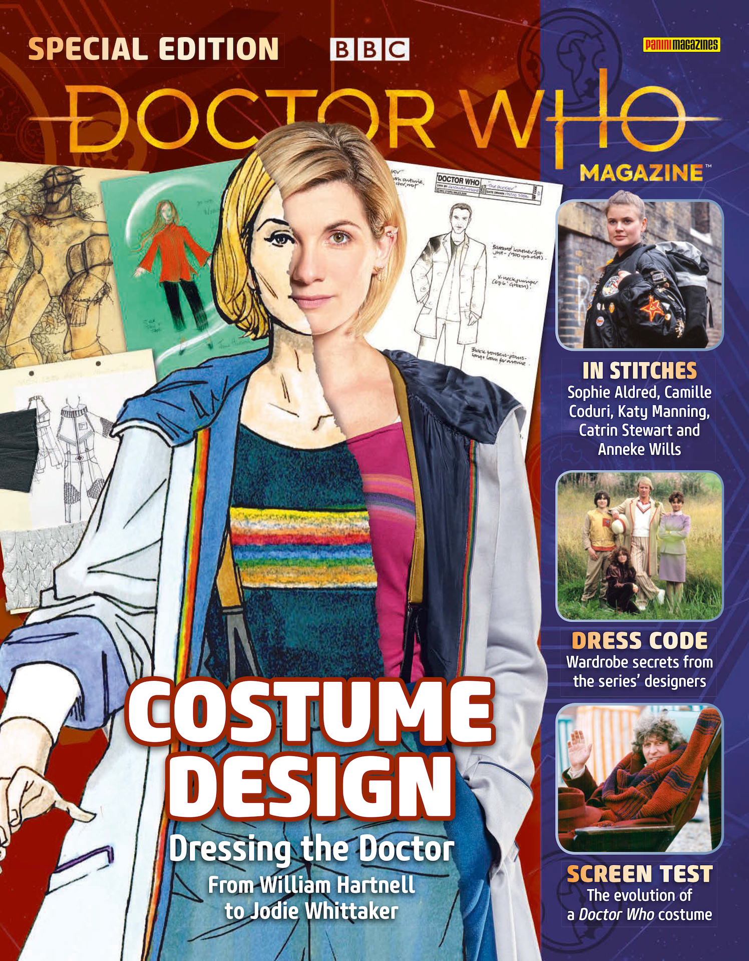 doctor who costume design