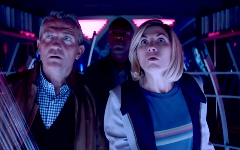 doctor who series 12 trailer
